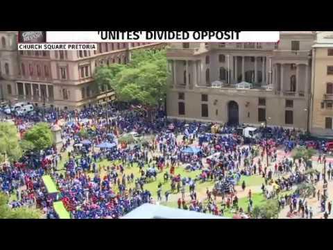 Update: Anti-Zuma march in Pretoria