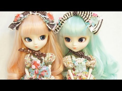 Pullip alice du jardin mint pink doll unboxing youtube for Alice du jardin pullip