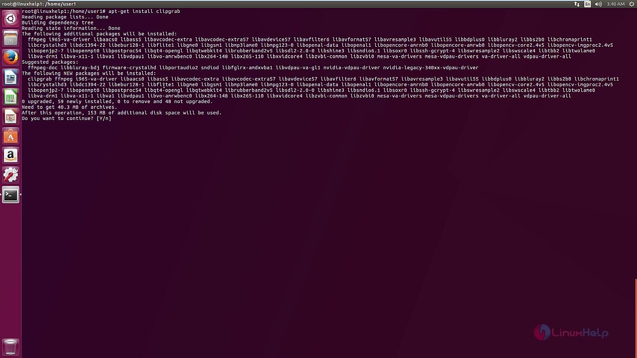 How to install ClipGrab on Ubuntu 17 04 | LinuxHelp Tutorials