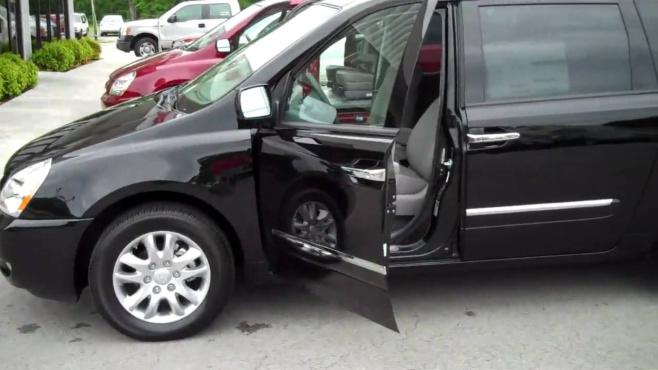 Kia Sedona Van Lx And Ex Trim Level Differences From
