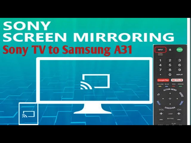 How To Connect Samsung A31 Phone, How To Screen Mirror Sony Tv Samsung