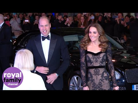 Duke and Duchess of Cambridge attend the Royal Variety Performance