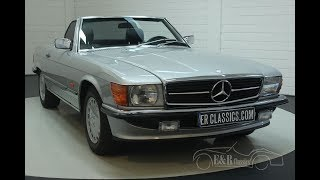 Mercedes Benz 300SL cabriolet 1986 -VIDEO- www.ERclassics.com