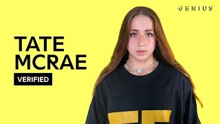 "Tate McRae ""all my friends are fake"" Official Lyrics & Meaning 
