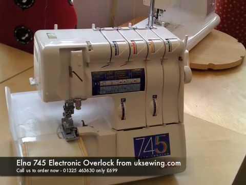 elna overlock symaskin