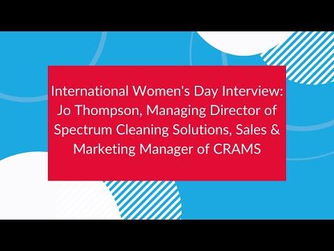 International women's day interview: Jo Thompson