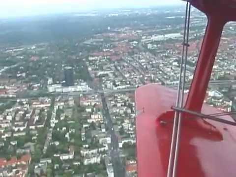 THE SIGHT & THE SOUND 1-1/2 : Air Tempelhof AN-2 D-FWJC flight from Berlin-Tempelhof to Hannover