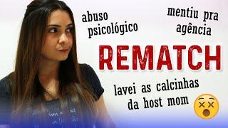 Au Pair: PEDI REMATCH NO 9º MÊS! | Fiz as Malas