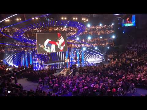 Anthony Joshua at Sports Personality Of The Year 2017