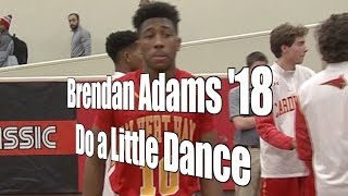 Brendan Adams '18, Do a Little Dance, UA Holiday Classic 1st Round, 12/27/16