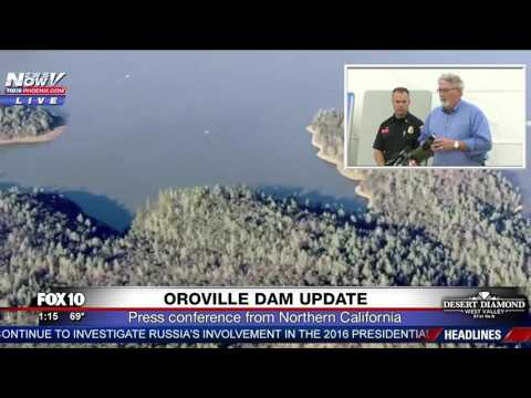 LATEST Oroville Dam Update  -  February 15, 2017 Press Conference (FNN)