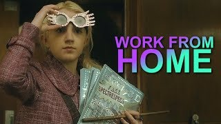 Luna Lovegood || Work From Home