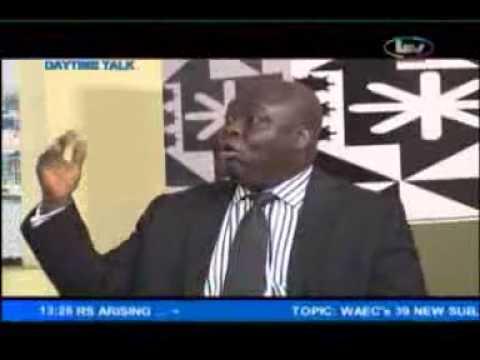 LAGOS SCHOOLS ONLINE PROJECT DIRECTOR MR. DUROTIMI ADEBOYE ON LTV'S DAYTIME TALK
