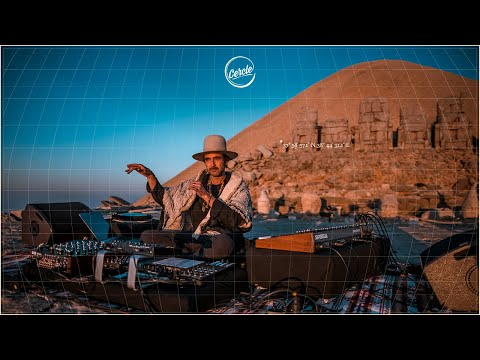 Be Svendsen live at Mount Nemrut, in Türkiye for Cercle
