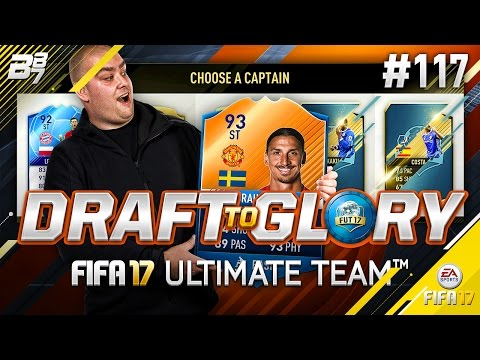 DRAFT TO GLORY! I CANNOT BELIEVE THIS! #117   FIFA 17 ULTIMATE TEAM