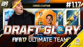 DRAFT TO GLORY! I CANNOT BELIEVE THIS! #117 | FIFA 17 ULTIMATE TEAM