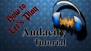 Audacity Tutorial - kostenlose Audio Aufzeichnung  - #004 (deutsch | german)