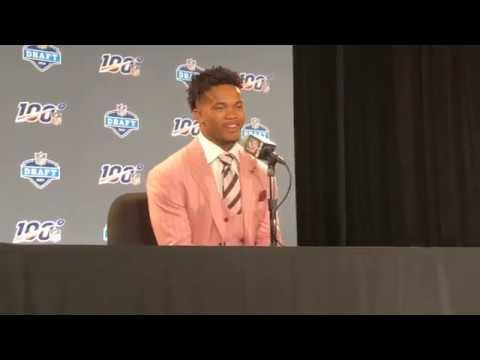 Kyler Murray Arizona Cardinals 2019 NFL Draft Pick Livestream