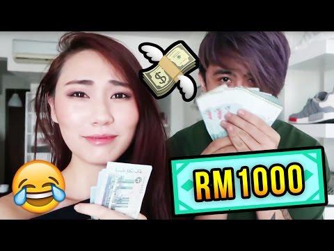 $1000 COUPLE SHOPPING CHALLENGE with Alicia Tan | Joseph Germani