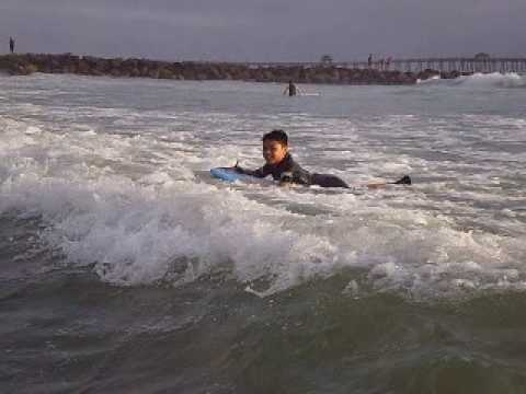 Boogie Boarding at Imperial Beach, California 3