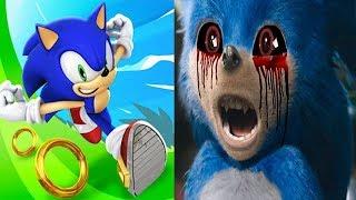 Sonic Dash vs SONIC EXE Movie