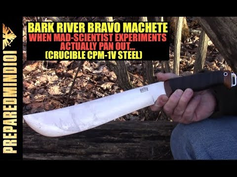 A CPM-1V Machete?? (Sneak Peek at the Bravo Machete) - Preparedmind101