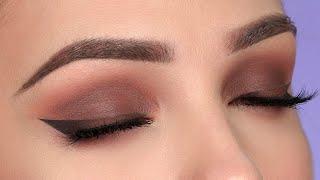 CHOCOLATE Brown Smokey Eye Makeup Tutorial