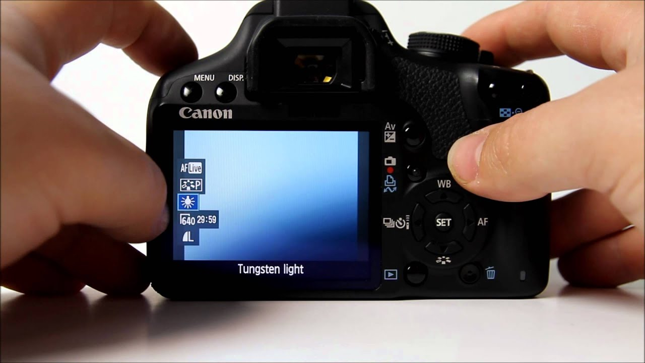 quick video settings tutorial canon eos 500d youtube rh youtube com Canon EOS 500D Astrophotography Images Canon EOS Rebel T1i