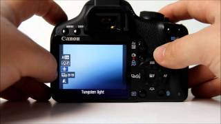 Quick Video settings tutorial Canon EOS 500D(How to use the Canon 500d in video mode. This video shows you how to use the 500d in video mode, how to change the frame rate, how to set the white ..., 2011-10-28T10:30:12.000Z)