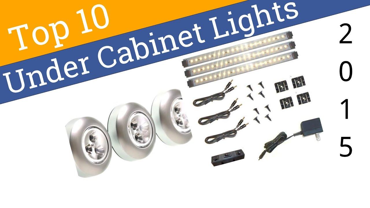 10 Best Under Cabinet Lights 2015 - YouTube