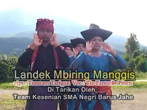 Tarian Daerah - Landek Mbiring Manggis (Suku Karo)