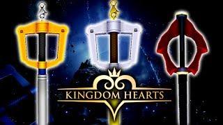 Kingdom Hearts - Keyblade Of Light, Keyblade of Darkness & Keyblade Of Heart