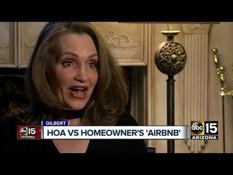 Gilbert woman battling HOA over AirBnB rental