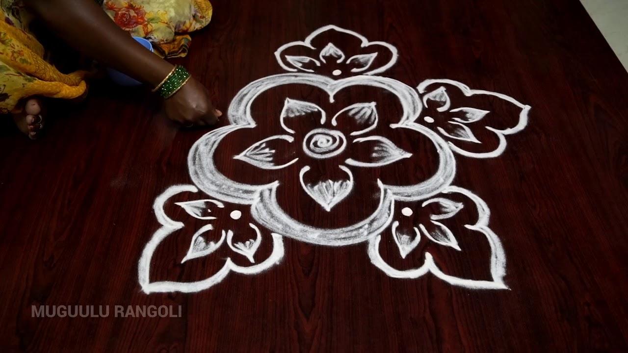 latest simple rangoli designs simple best rangoli designs
