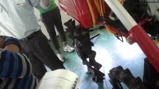 농민사관학교 이앙기 강의 (KOREA a rice-planting machine,移秧機,插秧机) 농기계강의 , 모심는기계, 벼심는기계