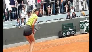 Россиянка Мария Шарапова вышла в четвертьфинал Открытого чемпионата Франции по теннису