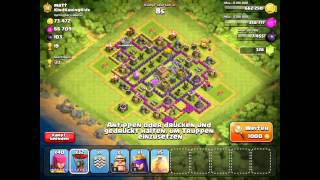 Clash of Clans #8 Clan Wars Info/starker Angriff/Live Angriff!