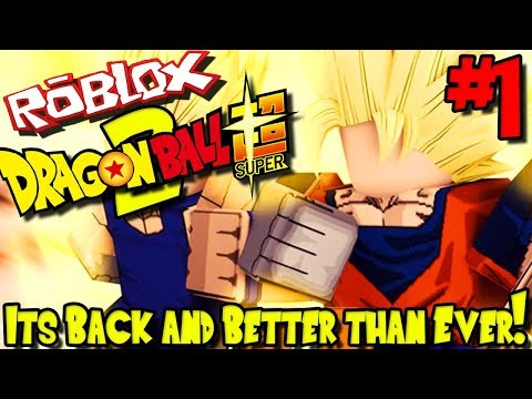 *NEW* ITS BACK AND BETTER THAN EVER! | Roblox: Dragon Ball Super 2 (UPDATED) - Episode 1