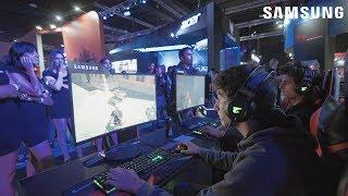 Gabriel Ochoa de Samsung en Argentina Game Show 2018