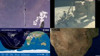 South African Coastlines - NASA/ESA ISS LIVE Space Station With Map - 319 - 2018-12-11