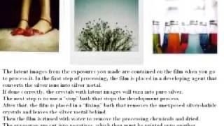 The Photochemistry of Film Photography