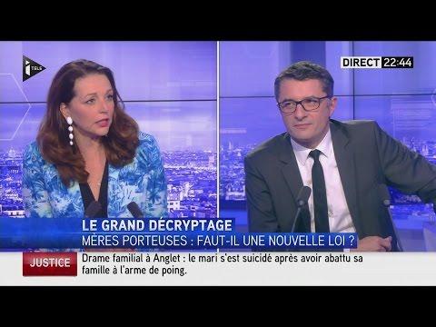 Débat Erwann Binet (PS) / Valérie Boyer (LR) sur sa loi anti-GPA (21/06/16, 22h34, I-TELE)