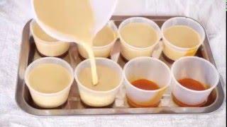 Làm bánh flan vị cà phê đậm đà hấp dẫn - Make flan coffee