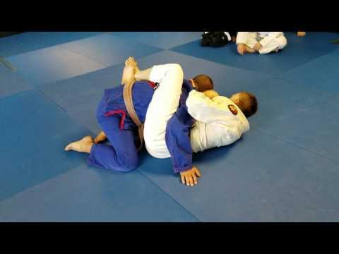 Guard break posture with cross collar