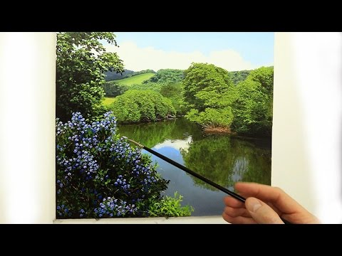 88 How To Paint Leaves And Flowers Oil Painting