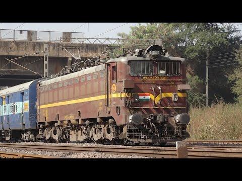 "ET WAG5A ""Chocolate"" 18238 Amritsar - Bilaspur Chhattisgarh Express : Indian Railways"