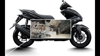 """Tin nhanh 24/7 - Yamaha NVX 155 đầu tiên bị """"VỠ LỐC MÁY"""" tại Việt Nam..""""NGHI NGỜ"""" do lỗi của NSX."""