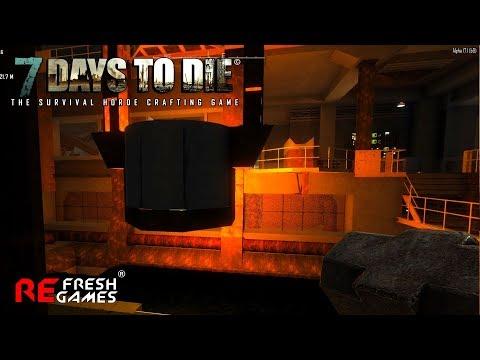 #12 Ад на оружейном заводе - 7 Days To Die Alpha 17