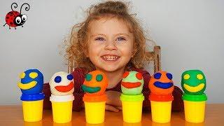 Omuleti din Plastelina cu Surprize   Video Educativ si Distractiv pentru Copii   For Kids