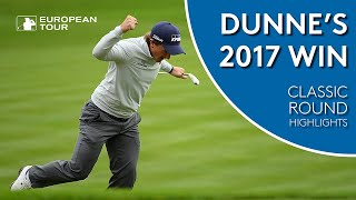 Paul Dunne shoots 61 to win the 2017 British Masters | Classic Round Highlights
